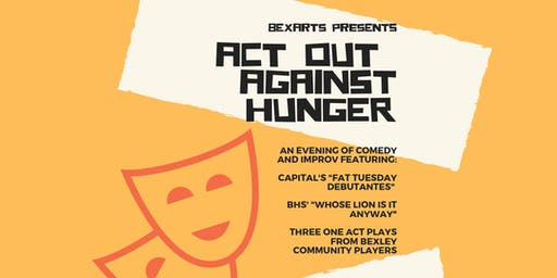 Act Out Against Hunger//an evening of community coming together