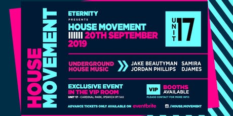 House Movement tickets