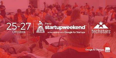 Techstars Startup Weekend Pavia | 25-27 Ottobre 2019