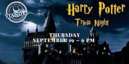 Harry Potter Trivia at the Vineyard