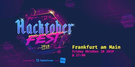 Hacktoberfest Frankfurt 2019 Tickets
