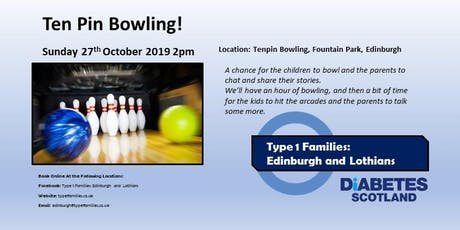 Type 1 Families -  Ten Pin Bowling! tickets