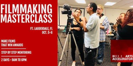 Filmmaking Masterclass tickets