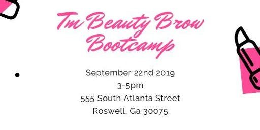 TM Beauty Brow Bootcamp