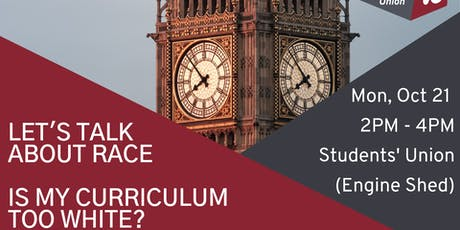 Let's Talk About Race: Is My Curriculum Too White? tickets