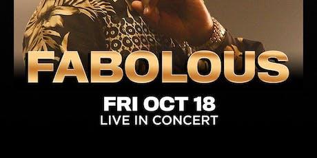 FABOLOUS @ THE #1 LAS VEGAS HIP-HOP CLUB - DRAIS NIGHTCLUB FRIDAY OCTOBER 18TH tickets
