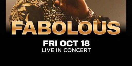 FABOLOUS @ THE #1 LAS VEGAS HIP-HOP CLUB - DRAIS NIGHTCLUB FRIDAY OCTOBER 18TH