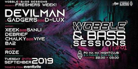 Wobble&Bass Sessions: Devilman - FRESHERS WEEK tickets