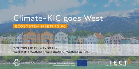 Climate-KIC goes West Tickets