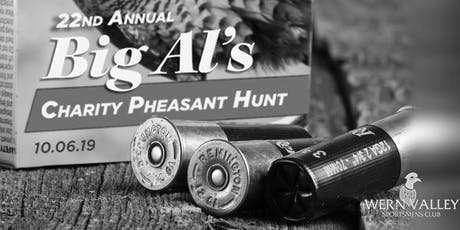 22nd Annual Big Al Charity Pheasant Hunt tickets