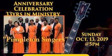 Pimpleton Singers Anniversary Celebration tickets