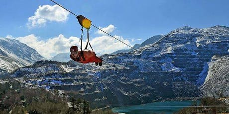 """Zip It to Stop MS"" - Tackle Velocity 2, the World's Fastest Zipwire! tickets"