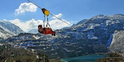 """Zip It to Stop MS"" - Tackle Velocity 2, the World's Fastest Zipwire!"