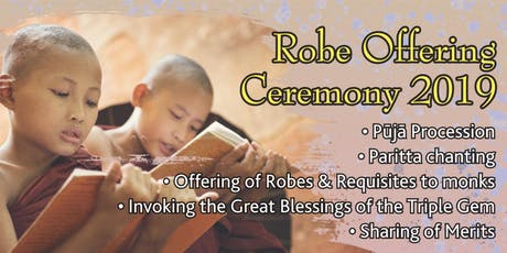Robe Offering Ceremony 2019 tickets