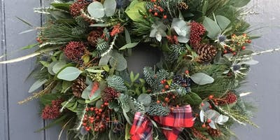 Christmas Wreath Making Workshop 2019