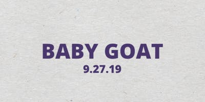 BABY GOAT: A SOLO EXHIBIT PRESENTED BY NISS