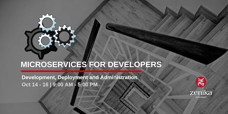 Architecture Training - Microservices for Developers tickets