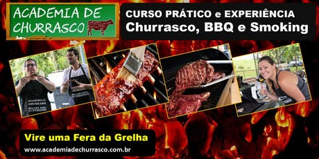 CURSO ACADEMIA DE CHURRASCO SÁBADO 19/OUT ingressos
