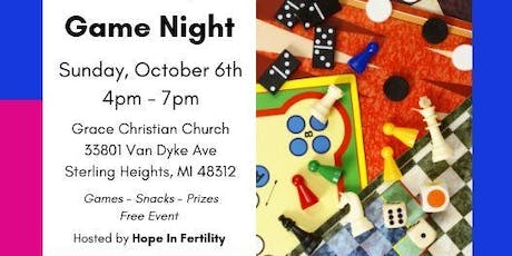 Hope In Fertility Game Night tickets