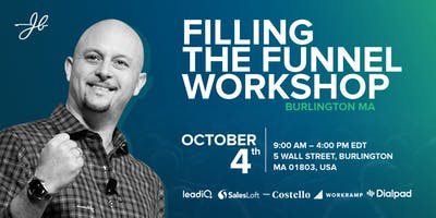 Filling the Funnel Workshop With John Barrows
