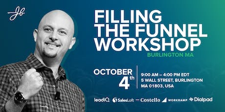 Filling the Funnel Workshop With John Barrows tickets