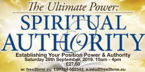 Establishing Your Position Power and Authority Workshop.