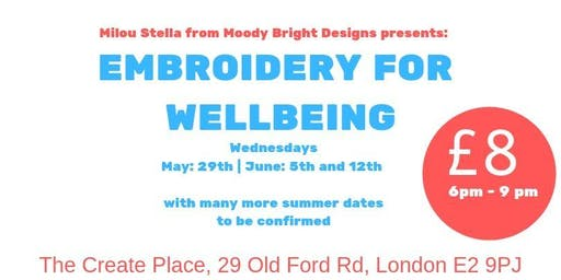 Embroidery for Wellbeing