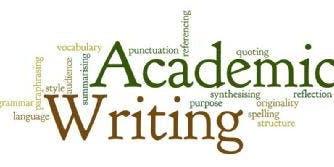 Academic Writing Style | CC - Curzon 585 | 13:00 - 14:00 | Thursday 7th November