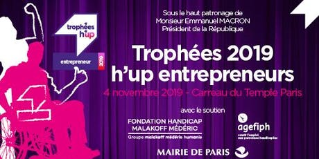 Trophées 2019 h'up entrepreneurs - Remise des prix billets