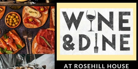 Italian Wine and Dine at Rosehill House tickets