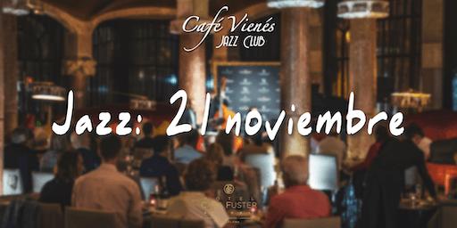 Música Jazz en directo: 21 noviembre 2019