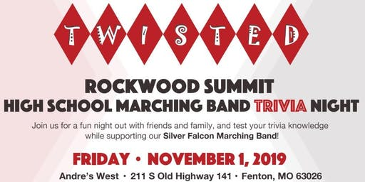 Trivia Night Supporting Rockwood Summit Silver Falcon Marching Band