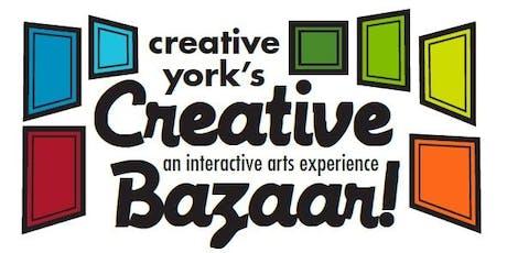Creative York's Creative Bazaar tickets