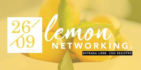 Lemon Networking - Septiembre boletos