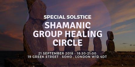 Fall Equinox shamanic healing circle tickets