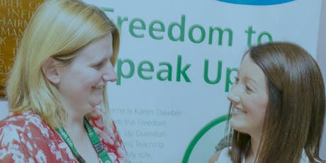 London Region Freedom to Speak up event: Guardian and Champion Development tickets