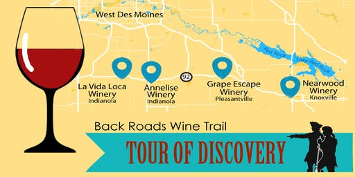 Back Roads Wine Trail Tour of Discovery