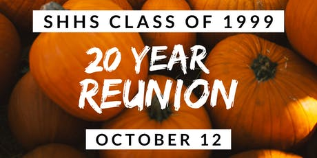 South Hadley High School Class of 1999 20-Year Reunion tickets