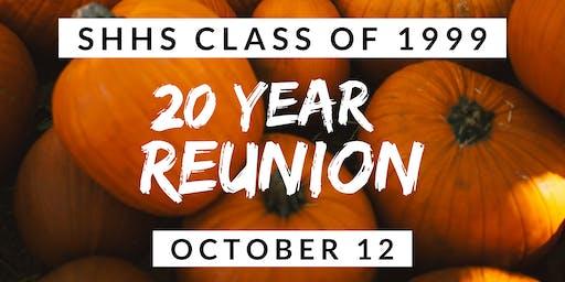 South Hadley High School Class of 1999 20-Year Reunion