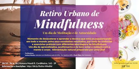 Curso de 1 dia de Mindfulness: um dia de meditação e cuidado com a mente e com o corpo ingressos