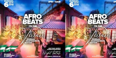 Afrobeats on the Terrace #AOTT #NigeriaIndependenceEdition tickets