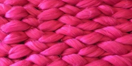Arm Knit a Blanket @UrbanMakers_UK (Spitalfields Market) tickets