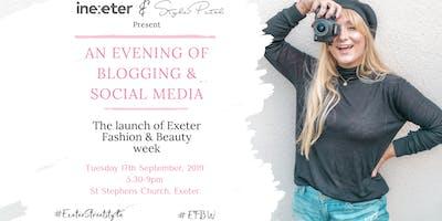 #EFBW : An Evening of Blogging & Social Media