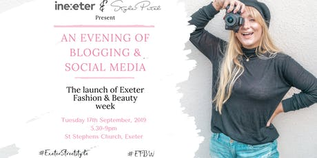 #EFBW : An Evening of Blogging & Social Media tickets