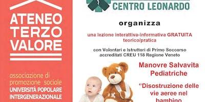 Corso Pediatrico di  Disostruzione Prime Vie Aeree