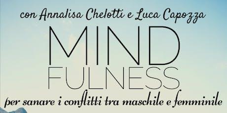 Mindfulness per integrare il Maschile e il Femminile • Laboratorio biglietti