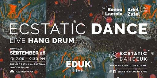 EDUK Live - Ecstatic Dance w. Live Hang Drum