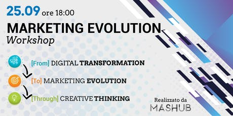C-Moment | Marketing Evolution Workshop.  From Digital Transformation to Marketing Evolution Through Creative Thinking. biglietti
