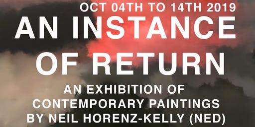 An Instance of Return (Exhibition & Aftershow Party invite)