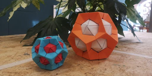 Shape with a Difference: Modular Origami Adult Workshop